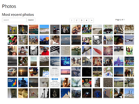Flickr Gallery in Backbone js