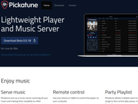 Pickatune (Website)